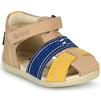 Schuhe Jungen Sandalen / Sandaletten Kickers BIGBAZAR-2 Marine