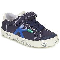 Schuhe Jungen Sneaker Low Kickers GODY Marine