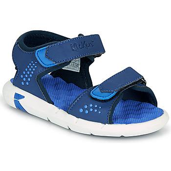 Schuhe Jungen Sandalen / Sandaletten Kickers JUMANGAP Blau