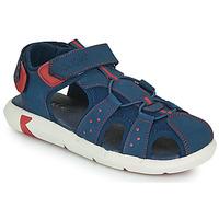 Schuhe Jungen Sandalen / Sandaletten Kickers JUMANGE Marine