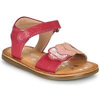 Schuhe Mädchen Sandalen / Sandaletten Kickers DYASTAR Rose