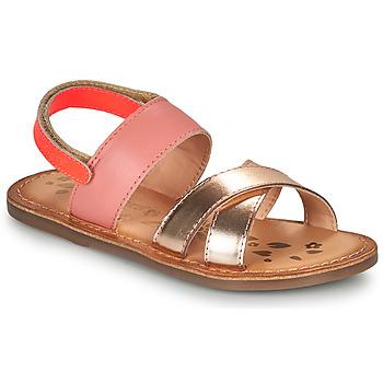 Schuhe Mädchen Sandalen / Sandaletten Kickers DYACROSS Rose