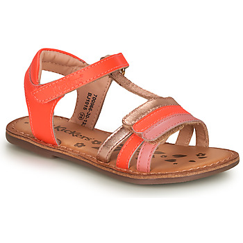 Schuhe Mädchen Sandalen / Sandaletten Kickers DIAMANTO Rose