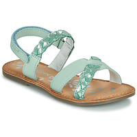 Schuhe Mädchen Sandalen / Sandaletten Kickers DIMDAMI Blau