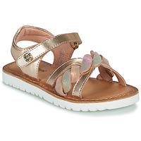 Schuhe Mädchen Sandalen / Sandaletten Kickers BETTYL Rose