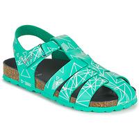 Schuhe Jungen Sandalen / Sandaletten Kickers SUMMERTAN Grün
