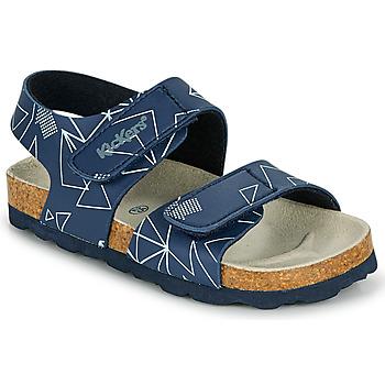 Schuhe Jungen Sandalen / Sandaletten Kickers SUMMERKRO Marine