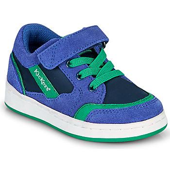 Schuhe Jungen Sneaker Low Kickers BISCKUIT Blau