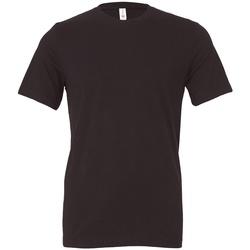 Kleidung T-Shirts Bella + Canvas CV3001 Dunkelgrau