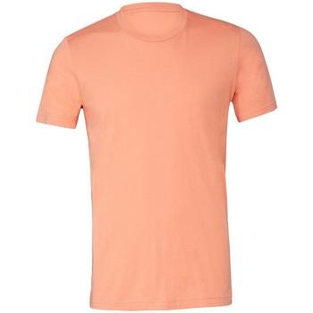 Kleidung T-Shirts Bella + Canvas CV3001 Rotorange