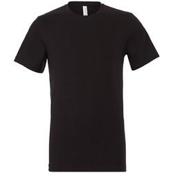 Kleidung T-Shirts Bella + Canvas CV3001 Schwarz