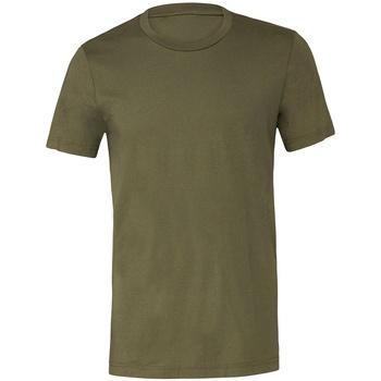Kleidung T-Shirts Bella + Canvas CV3001 Grün