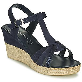 Schuhe Damen Sandalen / Sandaletten Marco Tozzi ANNA Marine