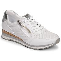 Schuhe Damen Sneaker Low Marco Tozzi BELLA Weiss