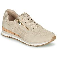Schuhe Damen Sneaker Low Marco Tozzi DORIANE Beige