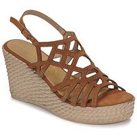 Schuhe Damen Sandalen / Sandaletten Marco Tozzi FRANCINE Cognac