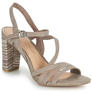 Schuhe Damen Sandalen / Sandaletten Marco Tozzi BALEINA Beige
