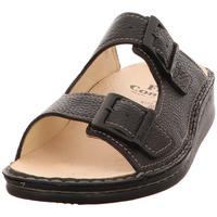 Schuhe Herren Pantoletten Finn Comfort  schwarz