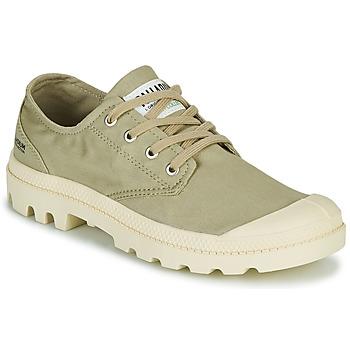 Schuhe Sneaker Low Palladium PAMPA OX ORGANIC II Grün