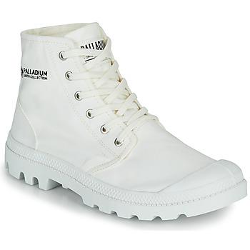 Schuhe Boots Palladium PAMPA HI ORGANIC II Weiss