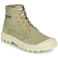 Schuhe Boots Palladium PAMPA HI ORGANIC II Grün