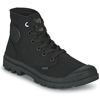 Schuhe Boots Palladium MONO CHROME Schwarz
