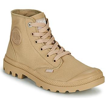 Schuhe Boots Palladium MONO CHROME Beige