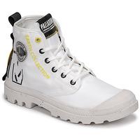 Schuhe Boots Palladium PAMPA RCYCL METRO Weiss