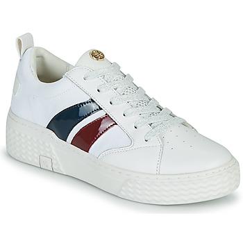 Schuhe Damen Sneaker Low Palladium Manufacture EGO 03 NPA Weiss