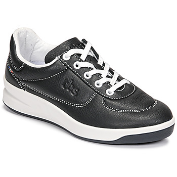 Schuhe Damen Sneaker Low TBS BRANDY Schwarz / Weiss