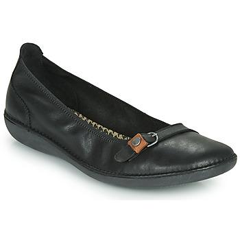 Schuhe Damen Ballerinas TBS MALINE Schwarz