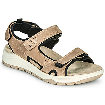 Schuhe Damen Sandalen / Sandaletten TBS CABELLA Beige