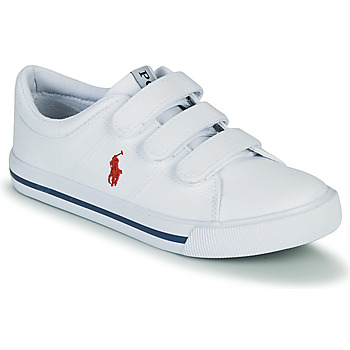 Schuhe Kinder Sneaker Low Polo Ralph Lauren ELMWOOD EZ Weiss