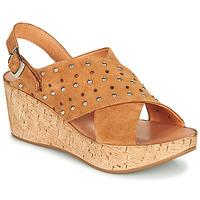 Schuhe Damen Sandalen / Sandaletten Felmini MONACO Braun