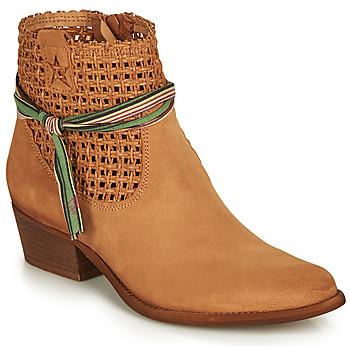 Schuhe Damen Boots Felmini WEST Braun