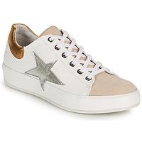 Schuhe Damen Sneaker Low Felmini TRUMP Weiss