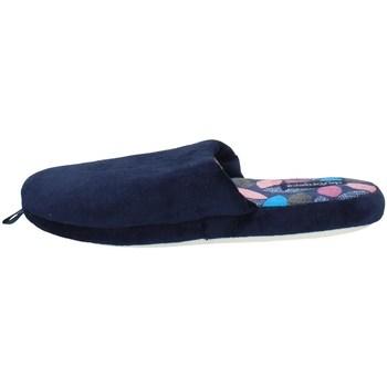 Schuhe Damen Hausschuhe De Fonseca ROMA TOP I W507 BLAU