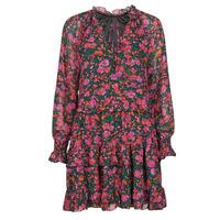 Kleidung Damen Kurze Kleider Moony Mood NOMINA Schwarz / Rose
