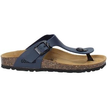 Schuhe Kinder Zehensandalen Gold Star 1830 Blau