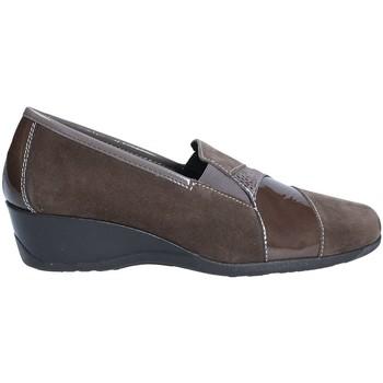 Schuhe Damen Slipper Susimoda 8705 Braun