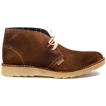 Schuhe Herren Boots Colour Feet CLARK KIM Braun