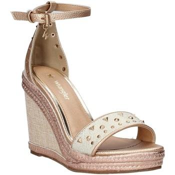 Schuhe Damen Sandalen / Sandaletten Wrangler WL91592A Rosa