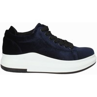 Schuhe Damen Sneaker Low Exé Shoes F17006688206 Blau