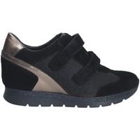 Schuhe Damen Sneaker Low Keys 7079 Schwarz