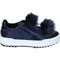 Schuhe Damen Slip on Apepazza HYB04 Blau