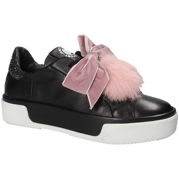 Schuhe Damen Sneaker Low Janet Sport 42730 Schwarz