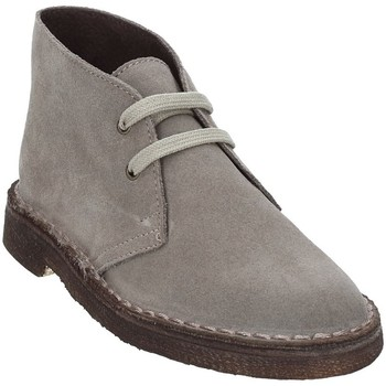 Schuhe Kinder Boots Rogers 1100B Grau