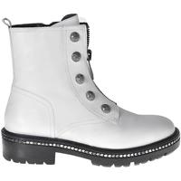 Schuhe Damen Boots Elvio Zanon I6507G Weiß