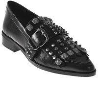 Schuhe Damen Slipper Elvio Zanon I7704G Schwarz