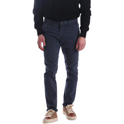 Kleidung Herren Chinohosen Automatic PAU22172 Blau